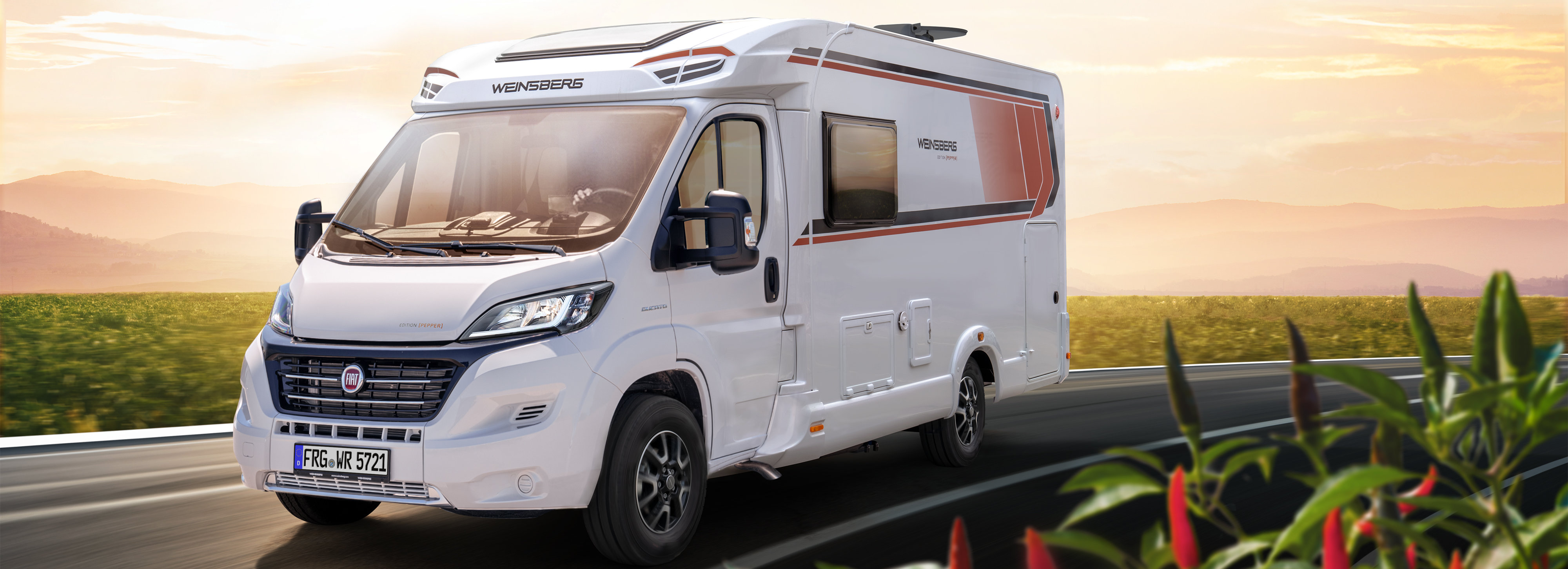 WEINSBERG CaraCompact EDITION [PEPPER] – Wohnmobil-Sondermodell